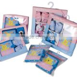 baby fabric book sets/baby use/baby playing/baby garments/baby gift box