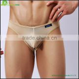 Sexy gauze boys boxer briefs sexy underwear for men International lingerie factory nude man transparent sheer briefs