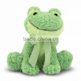 Soft Green Froggy Stuffed Animal Toy with Sound Chip for Baby