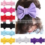Wholesale Hair Accessory Ladies Crochet Patterns Flower Head Wrap Women Knitted Headband