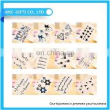 Design wholesale body temporary tattoo sticker new custom logo tattoo sticker
