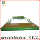 PVC inflatable water float pond play module for public pools