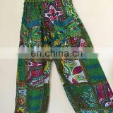 INDIAN ALI BABA HAREM WOMEN YOGA PANTS TROUSER BAGGY BOHO HIPPIE COTTON UNISEX