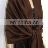 cashmere wool and silk with solid color pattern (JDS-043_19#)
