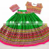 Cotton Patchwork Chaniya Choli- Indian Handmade Patchwork Ghagra Choli- Garba Chaniya Choli