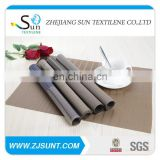 Hot sale rectangle pvc woven mesh placemats