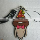 Plastic mobile phone strap