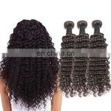 Good Feedback Deep Curl Best Selling High Quality Real Mink Brazilian Hair curly hair