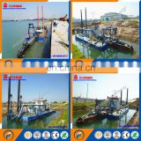 The sale of cutter suction dredger