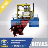 Cutter Suction Dredger with 8 inch outlet dredge pump