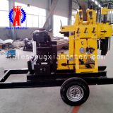 xyx-200 wheeled hydraulic water well drilling rig from HuaxiaMaster supply/small trailer type expoloration drilling equipment