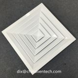 air conditioning ceiling vents 4 way square ceiling air register diffusers