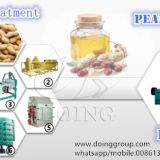 SGS certificate peanut oil processing plant, groundnut oil production line with engineer installation guide