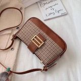 2020 hot and Fashion all match PU leather houndstooth women's mini bags/shouder mini bags
