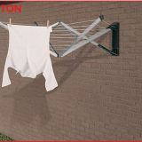 Outdoor  Aluminium alloy Wall Mounted Foldabled Clothes Drying Rack