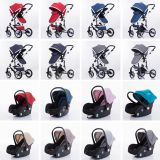 baby stroller with car seat all one pushchair for newborn baby pram for toddler
