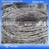 Hot Diped Galvanized Aluminum Barbed Wire Security Spike Concertina Wire Specifications