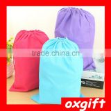 Oxgift Travel debris thicker non-woven shoe bag portable pouch finishing bags pouch shoe