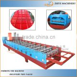 metal roofing galvanized aluminum steel sheet making machine/roof profile cold forming machine