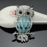wholsale fashion silver gold crystal rhinestone diamond pearl eyeglass holder pins cameo tie brooch