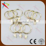 Golden ring for curtain buckle/curtain rings hooks clips