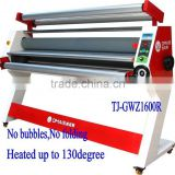 Automatic hot roll laminator 1600mm, TJ-GWZ1600R for Roll Printings,Glass,wood,PVC board,etc