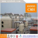 china High Quality and low operating Vertical Exhust scrubbing tower with filling