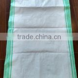 2016 promotional woven PP grain big bag, polypropylene woven bag for 50kg to 100kg beans and corn packing