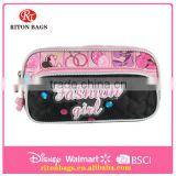 Beautiful Girls Design The Newest Design of Clear Pencil Case for Girls Cheap Pencil Case for Students