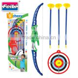shantou toys factory archery target plastic bow and arrow toys set