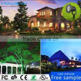 Outdoor Laser Lights Star Projector Light Garden Light Landscape Light with LED spotlight and Wireless Remote Control