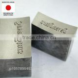 Original and Reliable tungsten carbide die or Metal marking stamp made in japan, Various type of design also available