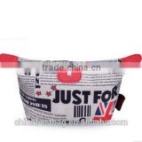 2015 Wholesale UK&USA flag cosmetic bag pvc cosmetic bag