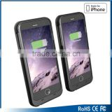 hot sell for iphone 6s battery case, silicone plastic battery case and phone case for iphone 6s