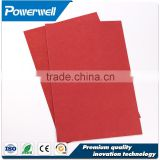 Red insulation vulcanized fibre sheet , vulcanized fiber sheet price for electrical motors