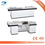 2016 Hot sale and upscale Cashier Desk/cashier counter/checkout counter factory manufacturer