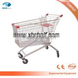 Wire Mesh XinHui Styles of Supermarket Trolley And Shopping Cart