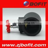 Bofit good quality cheap standard pe plastic ball valve different types