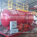 percussion drilling rig solid control mud tank