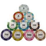 Cheap clay poker dice chips