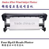 Hot selling!!!! IPot Wind 4 heads inkjet plotter,2 heads inkjet plotter with high quality