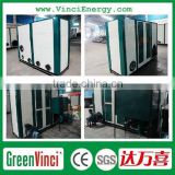 Vertical biomass fired hot air generator / hot blast stove / hot air stove for drying wood / sawdust and powder