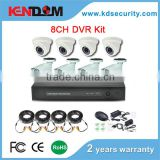 Cheap CCTV Kits 8ch dvr home surveillance 700TVL 8 channel weatherproof cctv camera system security cctv kit
