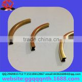 Hardware lighting apparel accessories square straight bending Cut copper tube