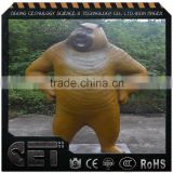 Bear fiberglass animal life size in Sculpture Amusement Park Products                                                                         Quality Choice