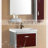 304 Modern Combination Stainless Steel Bathroom vanity cabinet,bathroom wall mount cabinet-8079