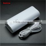 2 x 18650 Portable Smart Power Bank DIY Battery Casing USB Mobile Charger Soshine factory price