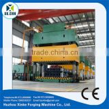 CNC kitchen sink double-action four-column hydraulic press for metal sheet drawing 1000t