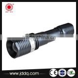 Promotional Zoom spotlight 3W led superbright Aluminium rechargeable JD-9811 torch / flashlight