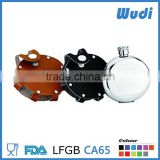 china supplier shaped hip flask , mini plastic wine bottle HFR102
